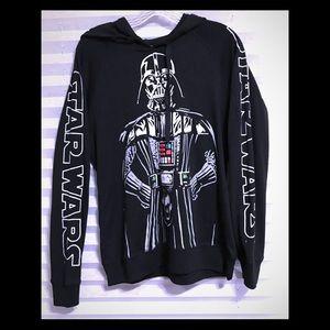 STAR WARS hoodie sweatshirt classic just in time